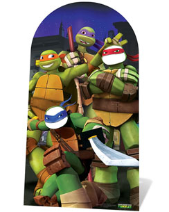 Ninja Turtles Stand In Photo Prop - 127cm