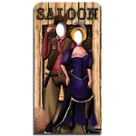 Wild West Stand In Cardboard Cutout - 186cm