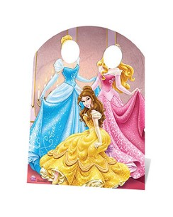 Disney Princess Stand In Cardboard Cutout - 127cm