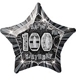 100th 20'' Star Foil Balloon