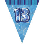 13th Flag Banner - 12ft