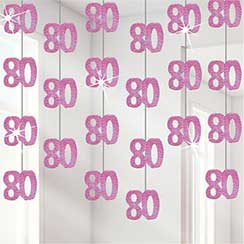 80th birthday decorations party delights for 80th birthday decoration