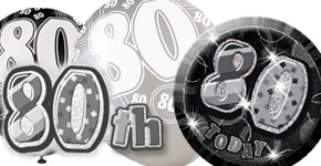 80th Black Theme