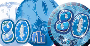 80th Blue Theme
