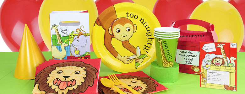 Dear Zoo Party Supplies