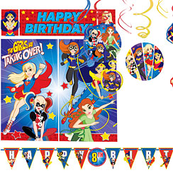 DC Superhero Girls Room Decorating Kit