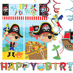 Little Pirate Room Decorating Kit