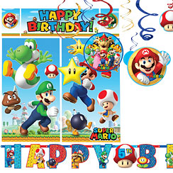 Super Mario Room Decorating Kit