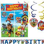 Paw Patrol Room Decorating Kit - 8 Pieces