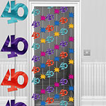 40th Door Curtain - 6.5ft