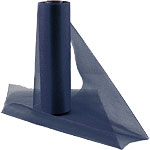 Navy Blue Organza Sheer Roll - 25m