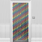 Lei Flowers Door Curtain - 1.9m Hawaiian Decoration