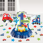 All Aboard 1st Birthday Table Decorating Kit