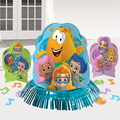 Bubble Guppies Table Decorating Kit - 31cm