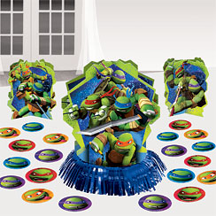 Ninja Turtles Table Decorating Kit - 31cm