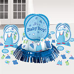 Boy's Shower With Love Table Decorating Kit