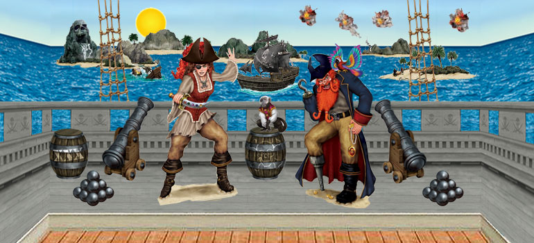 Pirate Scene Setters Party Delights