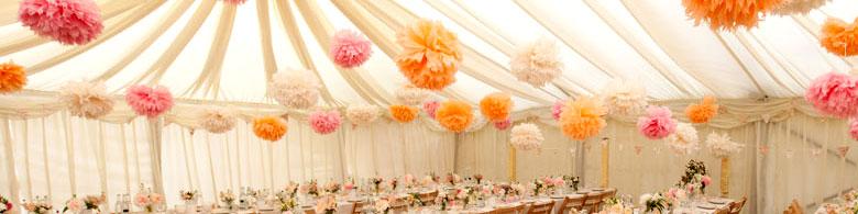 paper pom poms - Pom Pom Decorations