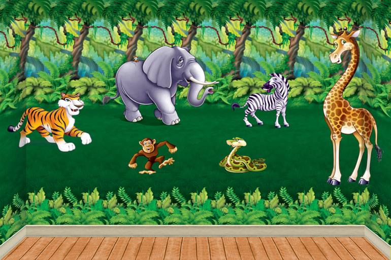 Gallery For gt Cartoon Jungle Scenery