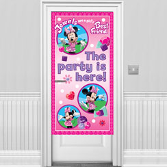 Minnie Mouse Door Banner - 1.7m