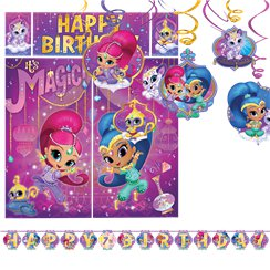 Shimmer and Shine Room Decorating Kit - 14 Pieces