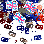 Great Britain Table/Invite Confetti