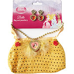 Disney Belle Bag & Jewellery Set  Fancy Dress