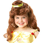 Disney Belle Wig  Fancy Dress