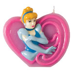 Disney Princess 9th Birthday Candle