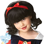 Childs Disney Snow White Wig