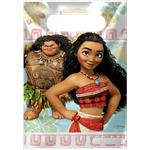 Disney Moana Party Bags - Plastic Loot Bags