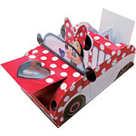 Minnie Mouse Party Food Tray - 21cm long
