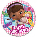 "Doc McStuffins Happy Birthday Balloon - 18"" Foil"