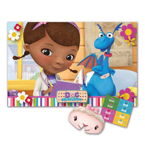 Doc McStuffins Party Stick The Plaster Game