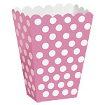 Pink Polka Dot Treat Boxes