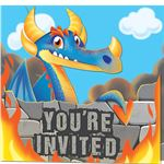 Dragon Invites - Party Invitation Cards