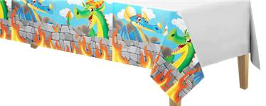 Dragon Plastic Tablecover - 1.4m x 2.6m