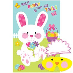 Pin the Tail on the Bunny - 95cm Easter Game