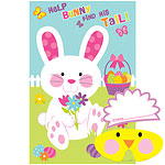 Easter Pin the Tail on the Bunny Game - 95cm