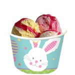 Hippity Hop Easter Bunny Treat Cups