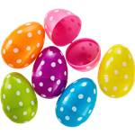 Large Polka Dot Fillable Eggs - 7.6cm