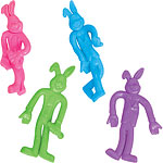 Bendy Easter Bunnies - 7cm