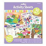 Easter Party Colouring & Activity Sheets