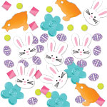 Easter Party Table/Invite Confetti