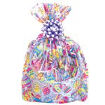 Easter Egg Cello Easter Basket Bag - 61cm x 63cm