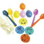 Easter Party Egg & Spoon Game