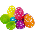 Easter Polka Dot Fillable Eggs - 6cm