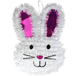 Tinsel Bunny - 35cm Easter Decoration
