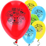 "Emoji Balloons - 12"" Latex"