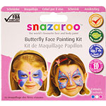 Snazaroo Butterfly Face Paint Kit - 10 Faces